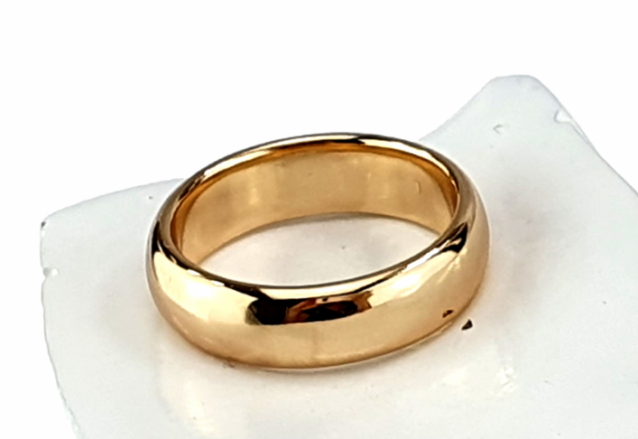 gold ring 20,60mm. gold-plated engagement xuping