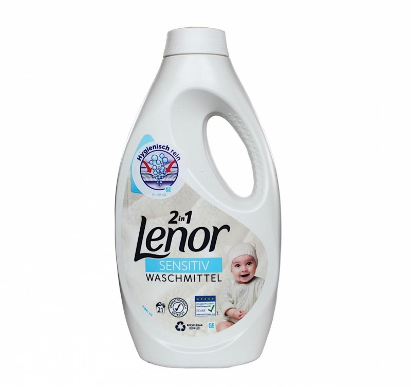 Lenor Sensitive żel 2w1 21 prań 1,155l