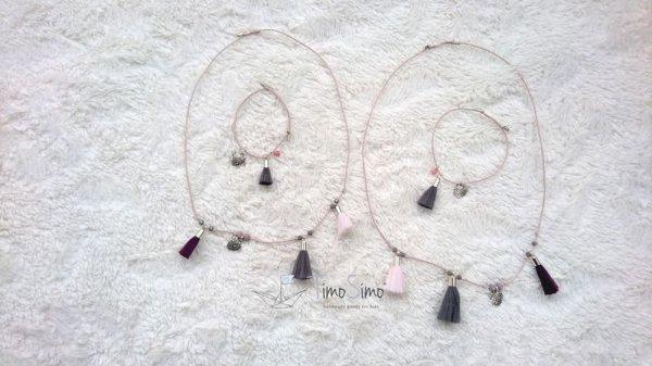 Zestaw biżuterii mama-córka