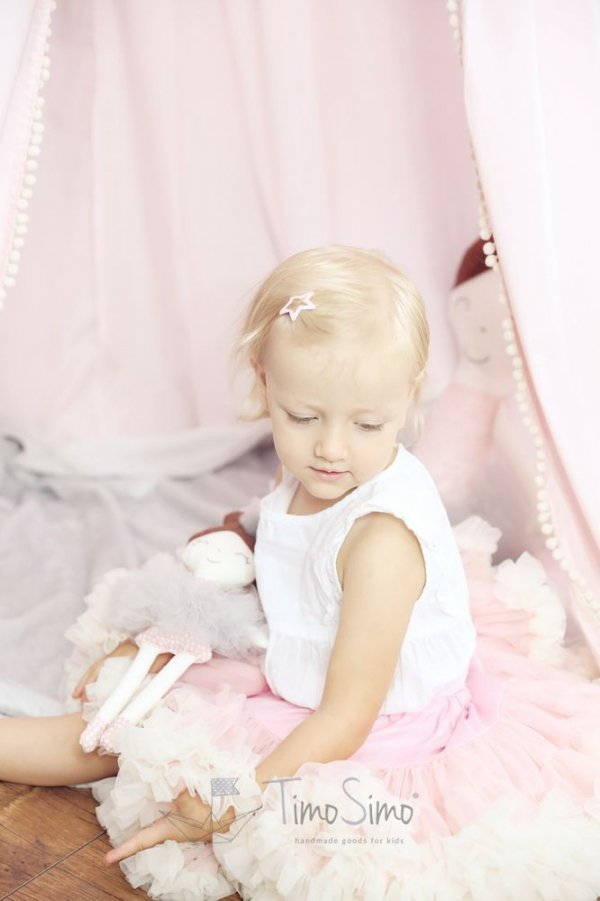 Lalka ręcznie robiona Melania