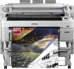 Ploter EPSON SureColor SC- T5200 MFP PS 36 nowy