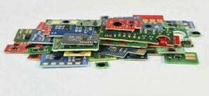 Chip Cyan OKI  C3300, C3400, C3450, C3520MFP, C3530MFP, C3600, MC350, MC360  (43459371/43459323/43459331)