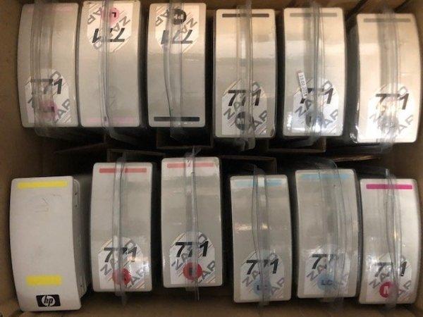 Tusz do plotera do HP DJ Z6200   HP 771 wszystkie kolory