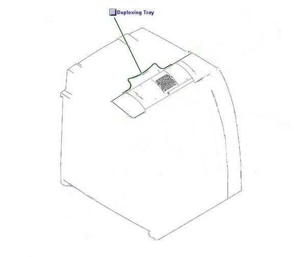 TACA DUPLEXU DO HP Color LaserJet 4700 4700N 4700DN