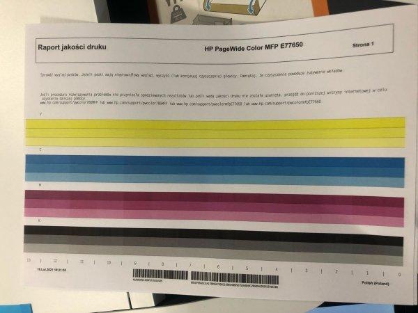 HP PageWide Managed P77650 A3 FV23% powystawowe do 70 str/min