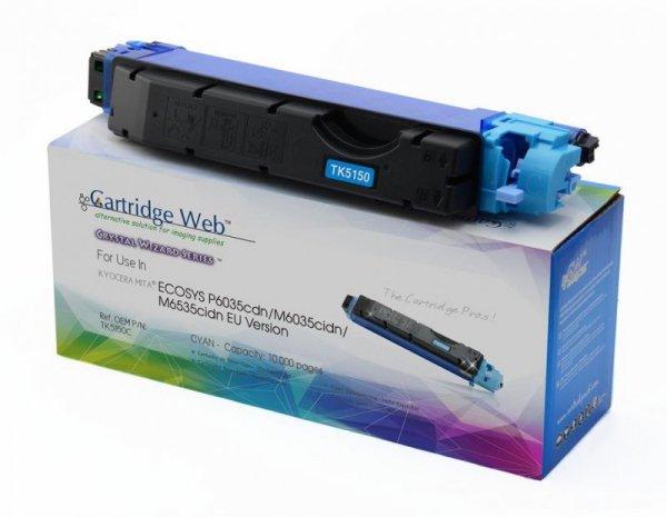 Toner Cartridge Web Cyan Kyocera TK5150 zamiennik TK-5150C