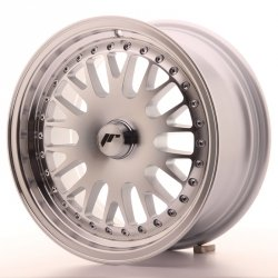 Japan Racing JR10 15x7 ET30 Blank Mach Silver