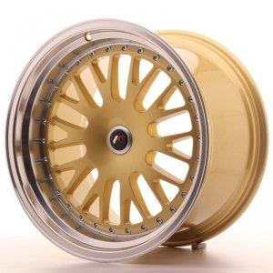 Japan Racing JR10 19x11 ET15-30 Blank Gold