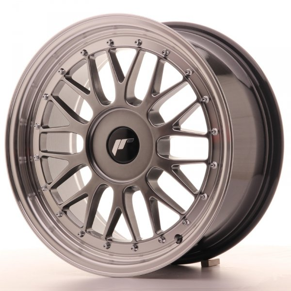 Japan Racing JR23 17x8 ET40-45 Blank Hyper Black