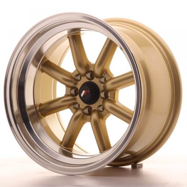 Japan Racing JR19 16x9 ET-25 4x100/114 Gold