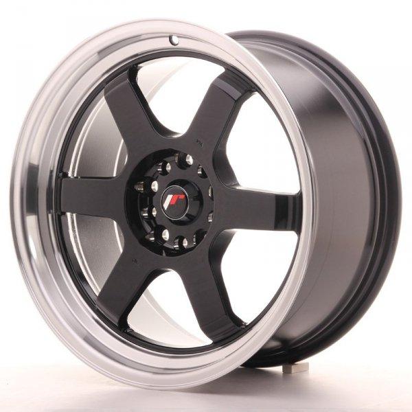 Japan Racing JR12 18x9 ET30 5x100/120 Gloss Black