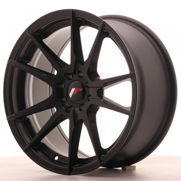 Japan Racing JR21 17x8 ET35 5x108/112 Matt Black