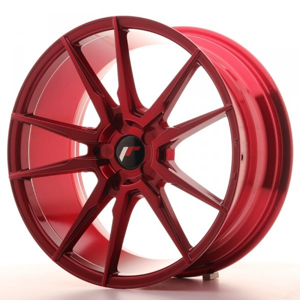 Japan Racing JR21 19x8,5 ET20-40 5H Blank Plat Red