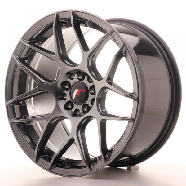 Japan Racing JR18 17x9 ET20 4x100/114 Hyper Black