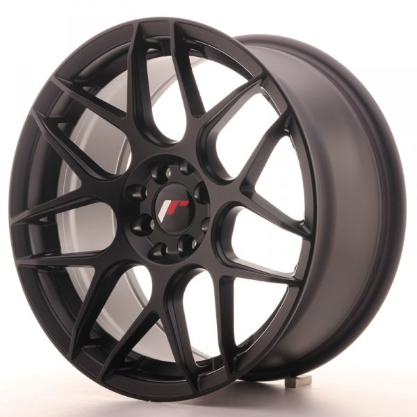 Japan Racing JR18 17x8 ET25 4x100/108 Matt Black