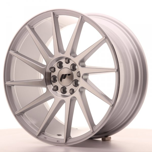 Japan Racing JR22 18x8,5 ET35 5x100/120 Silver Mac
