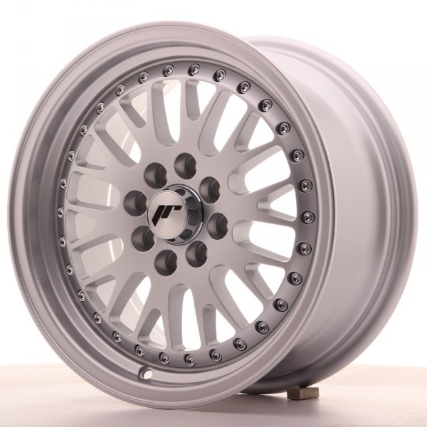 Japan Racing JR10 15x7 ET30 4x100/108 Full Silver