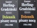 Gustaw Herling-Grudziński • Dziennik pisany nocą 1984-1988 [komplet]