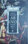Mikołaj Szymański • Ab ovo: Antyk, Biblia etc.