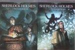Sylvain Cordurie • Sherlock Holmes i Necronomicon. 2 tomy