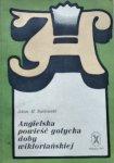 Adam Rustowski • Angielska powieść gotycka doby wiktoriańskiej