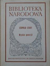 Leopold Staff • Wybór poezji