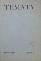 Tematy 18/1966 • Ezra Pound, Flaubert, Hemingway