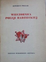 Seweryn Pollak • Wieczornica poezji radzieckiej [Majakowski]