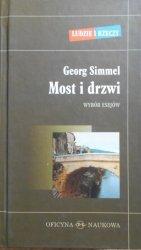 Georg Simmel • Most i drzwi. Wybór esejów