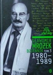 Sławomir Mrożek • Dziennik tom 3 1980-1989