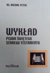 Michał Peter • Wykład Pisma Świętego Starego Testamentu