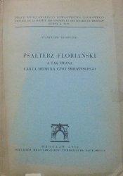 Stanisław Rospond • Psałterz floriański a tak zwana Karta Medycka czyli Świdzińskiego