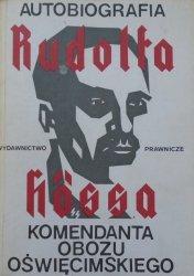 Rudolf Hoess • Autobiografia Rudolfa Hössa komendanta obozu oświęcimskiego