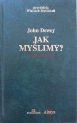 John Dewey • Jak myślimy? [zdobiona oprawa]