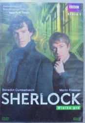 Benedict Cumberbatch. BBC • Sherlock. Wielka gra sezon 1/3 • DVD