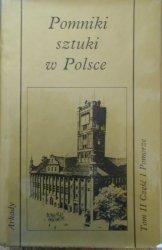 Jerzy Z. Łoziński • Pomniki sztuki w Polsce. Pomorze