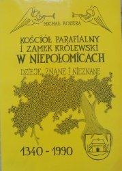 Michał Kozera • Kościół parafialny i zamek królewski w Niepołomicach. Dzieje znane i nieznane