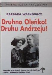 Barbara Wachowicz • Druhno Oleńko! Druhu Andrzeju! Gawęda o twórcach Harcerstwa Polskiego, Oldze i Andrzeju Małkowskich
