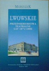 Agnieszka Marszałek • Lwowskie przedsiębiorstwa teatralne lat 1872-1886