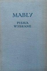 Gabriel Bonnot De Mably • Pisma wybrane
