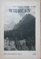 Wierchy • Rocznik dwudziesty piąty 1956
