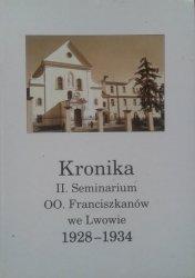 Kronika II. Seminarium OO. Franciszkanów we Lwowie 1928-1934