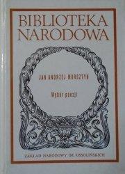 Jan Andrzej Morsztyn • Wybór poezji