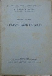 Zdzisław Stieber • Geneza gwar laskich