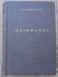 Emil Zegadłowicz • Dziewanny. Poemat [1927]