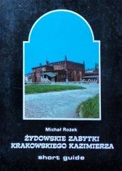 Michał Rożek • Żydowskie zabytki krakowskiego Kazimierza