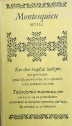 Montesquieu • Myśli