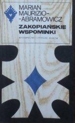 Marian Maruzo-Abramowicz • Zakopiańskie wspominki