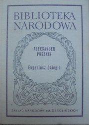 Aleksander Puszkin • Eugeniusz Oniegin