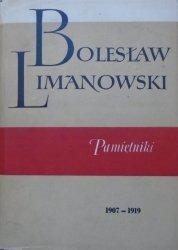 Bolesław Limanowski • Pamiętniki 1907-1919